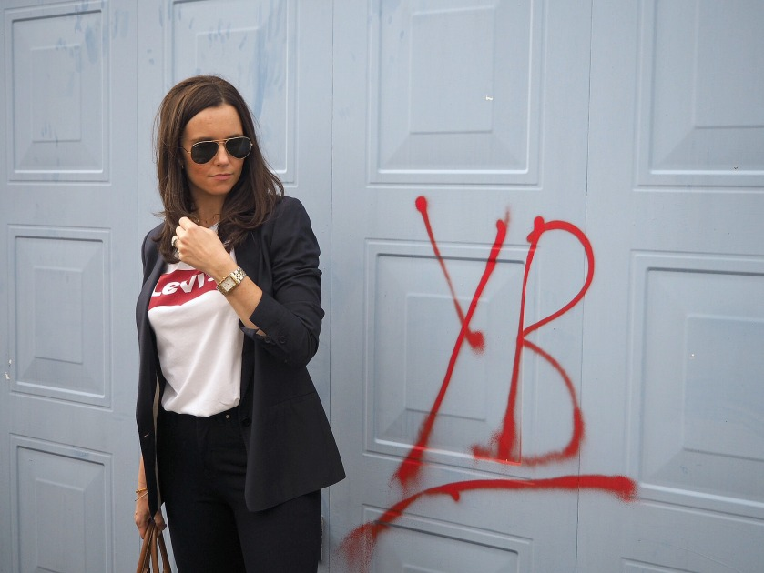 Wardrobe Picks - Levi's Tee & Blazer | jessicarhoades.co.uk