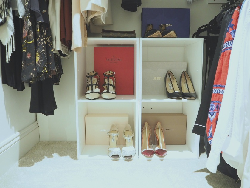 Designer Shoe Storage