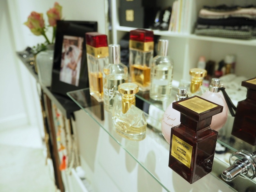 How To Display Your Perfumes