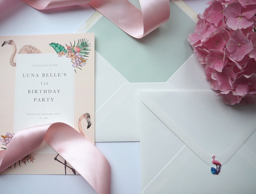 Invitations with matching envelopes
