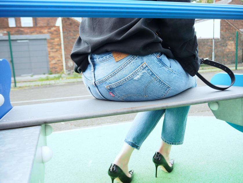 Wardrobe Picks - Ripped Jeans and Shirt | jessicarhoades.co.uk