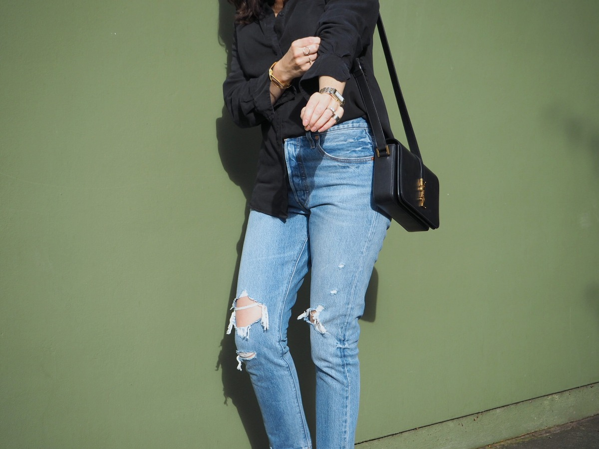 Wardrobe Picks – Ripped Jeans & Shirt