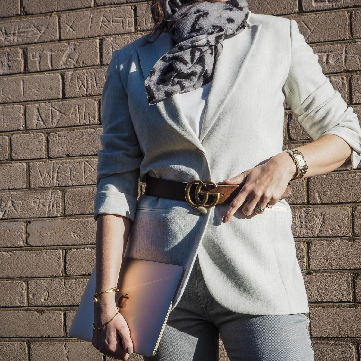 The Belted Blazer & My Top DenimTip