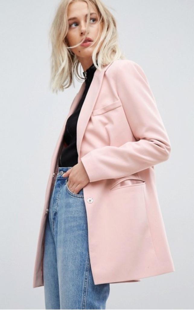 ASOS Own Brand Pink Blazer