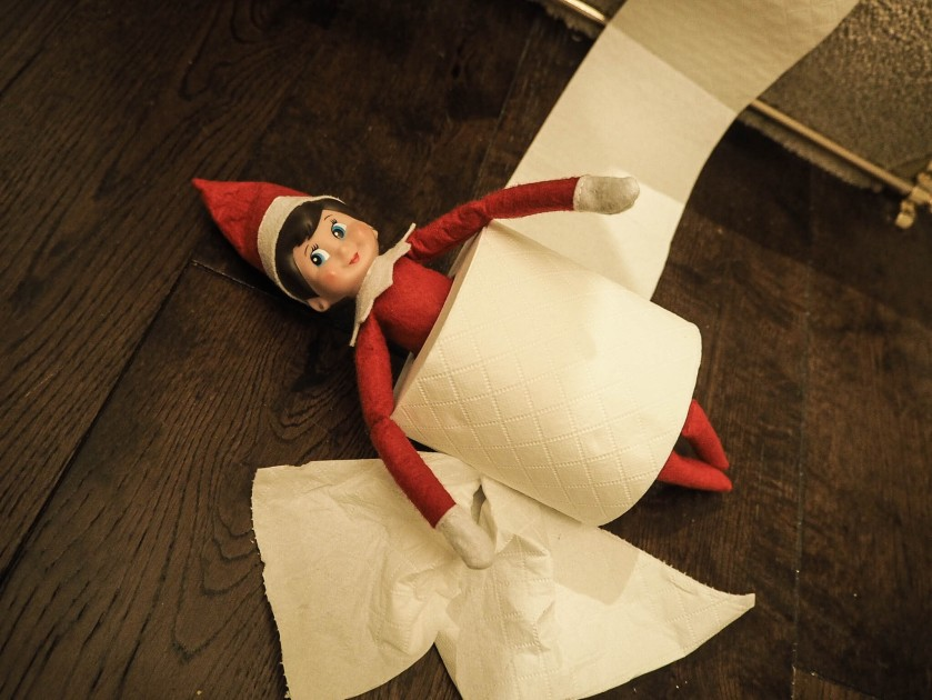 Andrex Puppy Elf