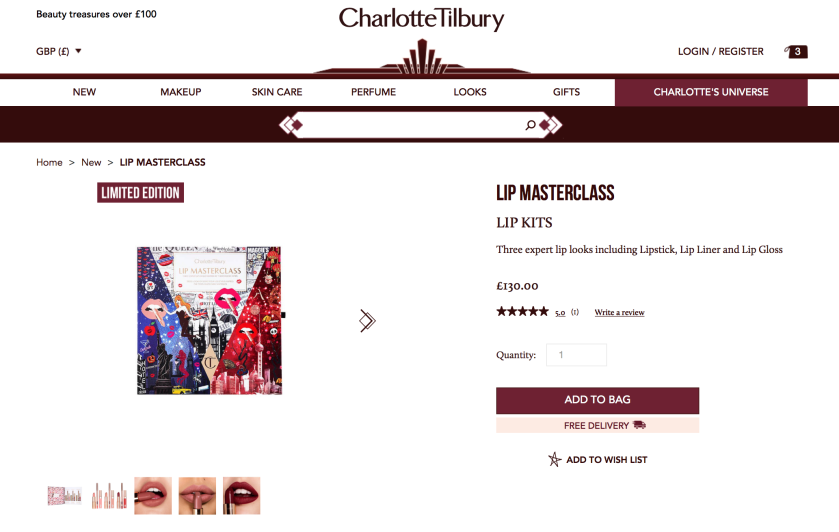 Charlotte Tilbury Lip Masterclass