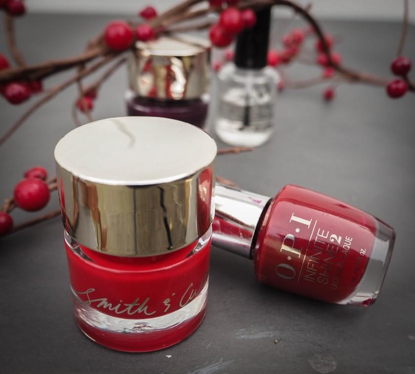 Nail Polish Edit - Top Festive Reds