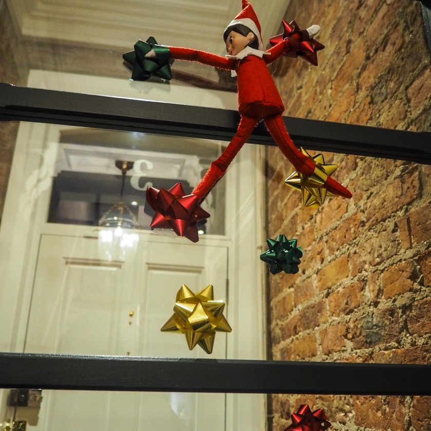 rock climbing elf on the shelf