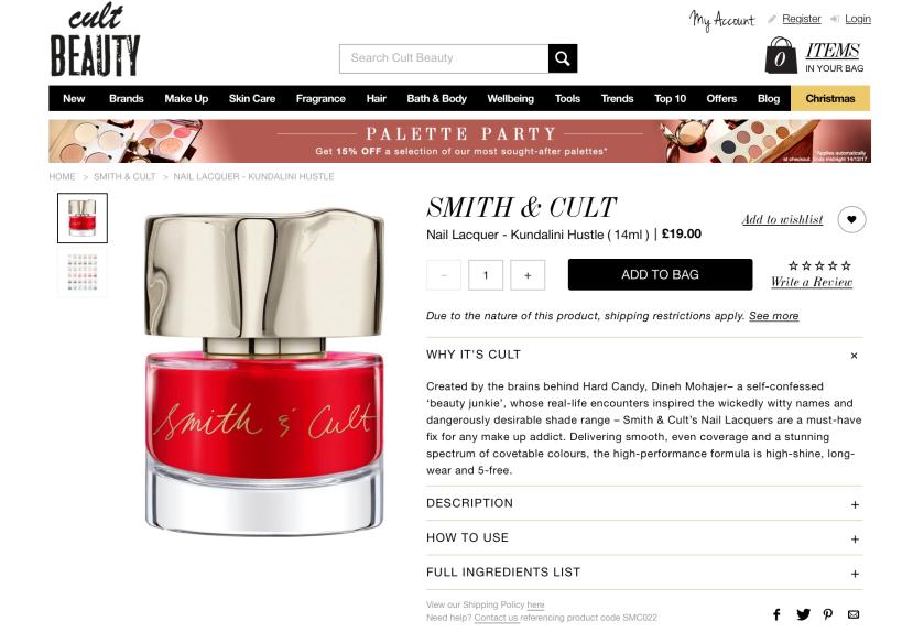 Smith & Cult Kundalini Hustle